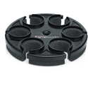 Gator GFW-MIC-6TRAY Multi Microphone Holder For 6 Mics