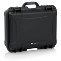 Gator GM-04-WMIC-WP Titan Series Waterproof Injection Molded Case with Foam Insert for 4 Wireless Mics & Accessories