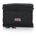 Gator GM-DUALW Carry Bag to Hold Shure BLX Style Wireless Systems with Two Microphones and Two Bodypacks