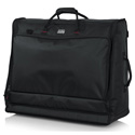 Gator G-MIXERBAG-2621 Padded Nylon Carry Bag for Large Format Mixers - 26 In x 21In x 8.5 In