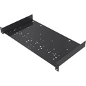 Gator GRW-SHELF1UNI Rackworks Shelf w/ Universal Hole Pattern to Accommodate Less than Rack Width Components 1U