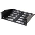 Gator GRW-SHELFVNT3 3U 17 Inch Vented Utility Shelf