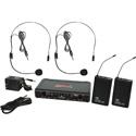 Galaxy Audio EDXR-38SS-N EDX Wireless Microphone System - Code N Freq. Range 518-542 MHz