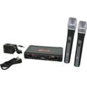 Galaxy Audio EDXR-D EDX Wireless Microphone System - Code D Freq. Range 584-607 MHz