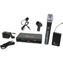 Galaxy Audio EDXR-HHBPV-N EDX Wireless Microphone System - Code N Freq. Range 518-542 MHz