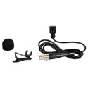 Galaxy Audio LV-U3-BK Uni-Directional Lavalier - Black