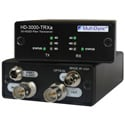 MultiDyne HD-3000-TRXA-ONE-ST 2-Way Multi-Rate Serial Digital Video Transceiver for SD/HD/3G-SDI - 1 ST Fiber Connection