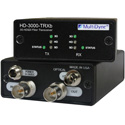 MultiDyne HD-3000-TRXB-ONE-ST 2-Way Multi-Rate Serial Digital Video Transceiver for SD/HD/3G-SDI - 1 ST Fiber Connection