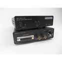 Multidyne HD-3521-GE-RX-ST-S PTZ Receiver: One-way 3G-SDI Gigabit Ethernet 2 Ch RS232/422 & return genlock/sync