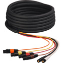 Laird HDA4V2-25 Belden 1347A 2-Channel HD-SDI Video and 4-Channel XLR Audio Snake Cable - 25 Foot