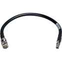 Laird HDBNC4794-B01 High Density HD-BNC Male to Standard BNC Male 12G HD-SDI Cable - 1 Foot