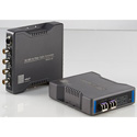 HDnP MFOS-3G-2VB 2-Channel 3G-SDI Single Mode Simplex LC Fiber Video Extender