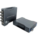 HDnP MFOS-4K-1VB 1-Channel 12G-SDI Single Mode Duplex LC Bi-directional Fiber Video Extender