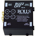 Rolls HE18 Buzzoff 2-Channel Audio Hum Eliminator