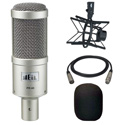 Heil PR40 Mic with PRSM-B Shock Mount and Windscreen and 15ft Mic Cable