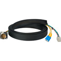 Camplex FCS015A-MR Canare Hybrid Fiber Optic Receptacle Cable SMPTE/ARIB w/ SC - Male 1ft