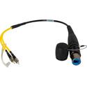 Camplex opticalCON DUO to Duplex ST Single Mode Fiber Optic Breakout 18 Inch
