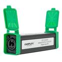 Camplex HF-OC2S2SA Inline Coupler - opticalCON DUO to DUO - SMPTE APC Single Mode