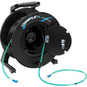 Camplex 2-Channel LC Multi Mode OM3 Fiber Optic Tactical Reel - 250 Foot