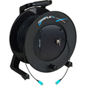 Camplex TAC1 Simplex OM3 Multimode SC Fiber Optic Tactical Cable Reel 500 Foot