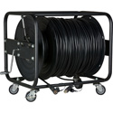 Camplex LEMO FUW-PUW-M Furukawa Outside Broadcast SMPTE 304M Fiber Camera Cable on Reel- 500 Foot