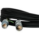 Laird HIT-TX1857MF-50 Triax Cable w/ Belden 1857A RG59 & Lemo 4A M-F Connectors - 50 Foot
