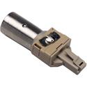 Male XLR to RJ9 Modular Phone Plug