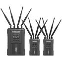 Hollyland SYSCOM 421-2TX1RX 2 Transmitter/1 Receiver 1800 Foot 1.9GHz SDI/HDMI Wireless Video/Audio Transmission System