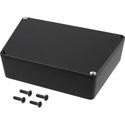 Hammond 1590TRPCBK Black Trapezoid Electronic Instrument Enclosure