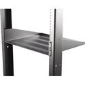 Hammond RASVL190314BK1 2U 14.5 Inch Deep Rack Shelf