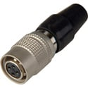 Hirose HR10A-7P-4S 4-Pin Female Push-Pull Connector with 7mm Male Shell