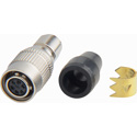 Hirose HR10A-7P-6S 6-Pin Female Connector with 7mm Male Shell