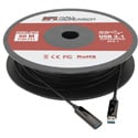 Hall Research CUSB3-AP30 4k USB 3.0 and 3.1 Gen1 Javelin AOC Plenum Cable - 100 Foot (30m)