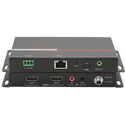 Hall Technologies ECHO-RX2 HDBaseT Receiver with Dual Outputs with 2x HDMI Mirror Outputs Analog Audio Extraction