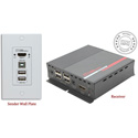 Hall Technologies EX-HDU-IP HDMI and USB Extension on CAT6 with Audio Integrated Control and IP