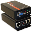 Hall Technologies URA-XT Video and Audio Over UTP Receiver with RJ45 Daisy-Chain Out