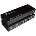 Hall Technologies UV4-S 1x4 VGA Plus Phantom Power Over CAT5 UTP Transmitter