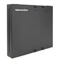 HellermannTyton FEWM12 Wall Mount Fiber Enclosure - Unloaded Accepts 2 Pnl 1 Tr