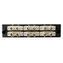 HellermannTyton VFAP12SMMST FT Adapter Panel Preloaded with 12 ST Multimode