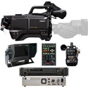 Hitachi SK-HD1800-ST1 HDTV 1080p CMOS 3Gbps Fiber Camera Package with Fiber CCU & CA-HF1200 Head Adapter - (no lens)
