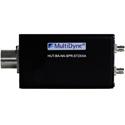 Multidyne HUTBANASPRST2XXA Passive SMPTE Breakout HUT Adapter 2 Singlemode Fiber/SMPTE-304M Socket/Receptacle Conn