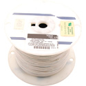 NTE Electronics 18 AWG 300V Stranded Hook-Up Wire 100 Foot Spool White
