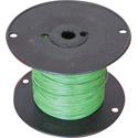 NTE Electronics 20 AWG 300V Stranded Hook-Up Wire 100 Foot Spool Green