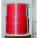 NTE Electronics 24 AWG 300V Stranded Hook-Up Wire 100 Foot Spool Red