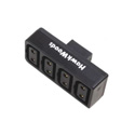Hawk-Woods PC-40 D-Tap Power Adaptor - Power-Con  Male to Power-Con 4-Way Female