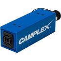 Photo of Camplex SMPTE Active/w Power SMPTE 311M Female to Neutrik opticalCON DUO Fiber Optic Adapter