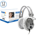HygenX HYGENXCP45 Disposable Sanitary Headphone Covers PPE 4.5-Inch Deluxe in White - 12 Boxes of 100 Pieces