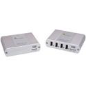 Icron 2204 USB 2.0 Ranger 2204 4-port Cat 5e 100m extender (Legacy)