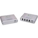 Icron 2224 USB 2.0 Ranger 2224 Four-port Multi-mode Fiber 500 meter extender (Legacy)