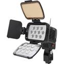 IDX X10-LITE-S High Performance LED On-board Camera Light (Sony type) - 1450 Lux (1m) of Light - 4500K Daylight Temp